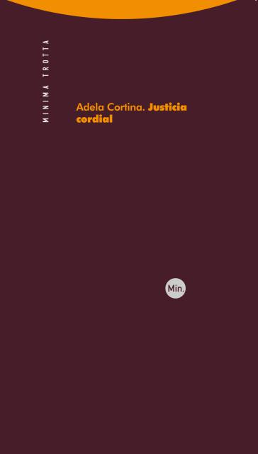 Book Cover: Justicia cordial