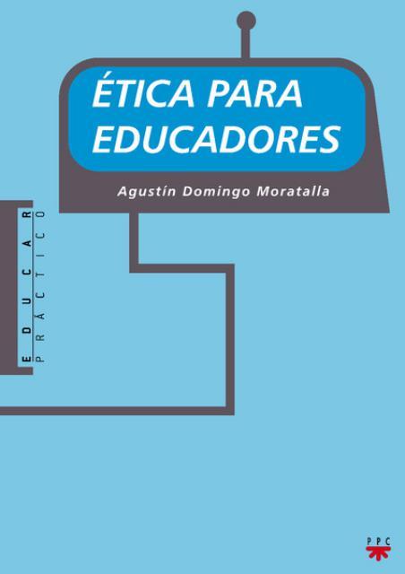 Book Cover: Ética para educadores