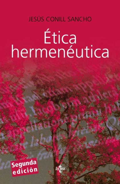Book Cover: Ética hermenéutica. Crítica de la facticidad